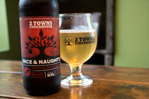 PickCider: 2 TownsCiderhouse - Nice & Naughty - Imperial Spiced Cider