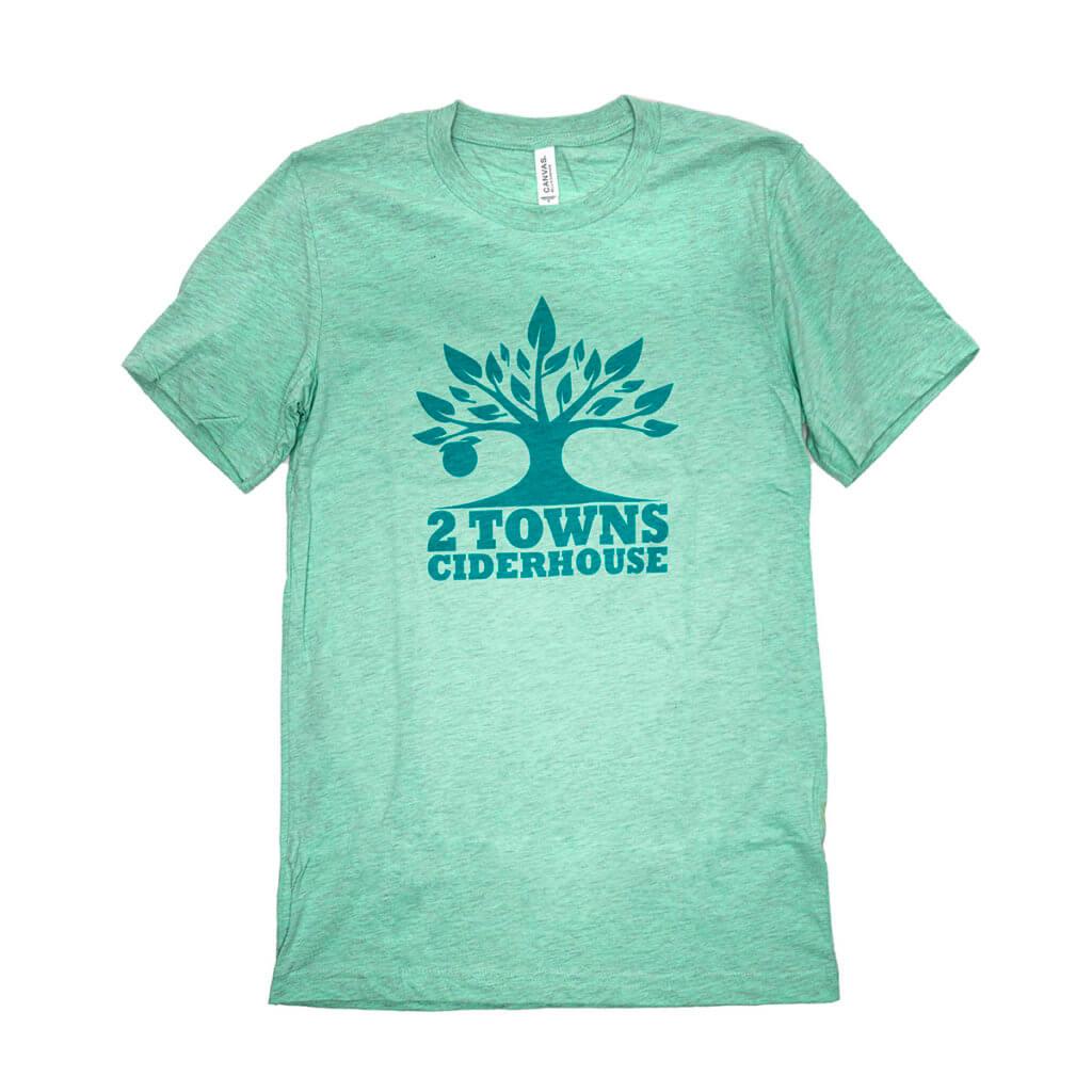 Aqua T-Shirt Front