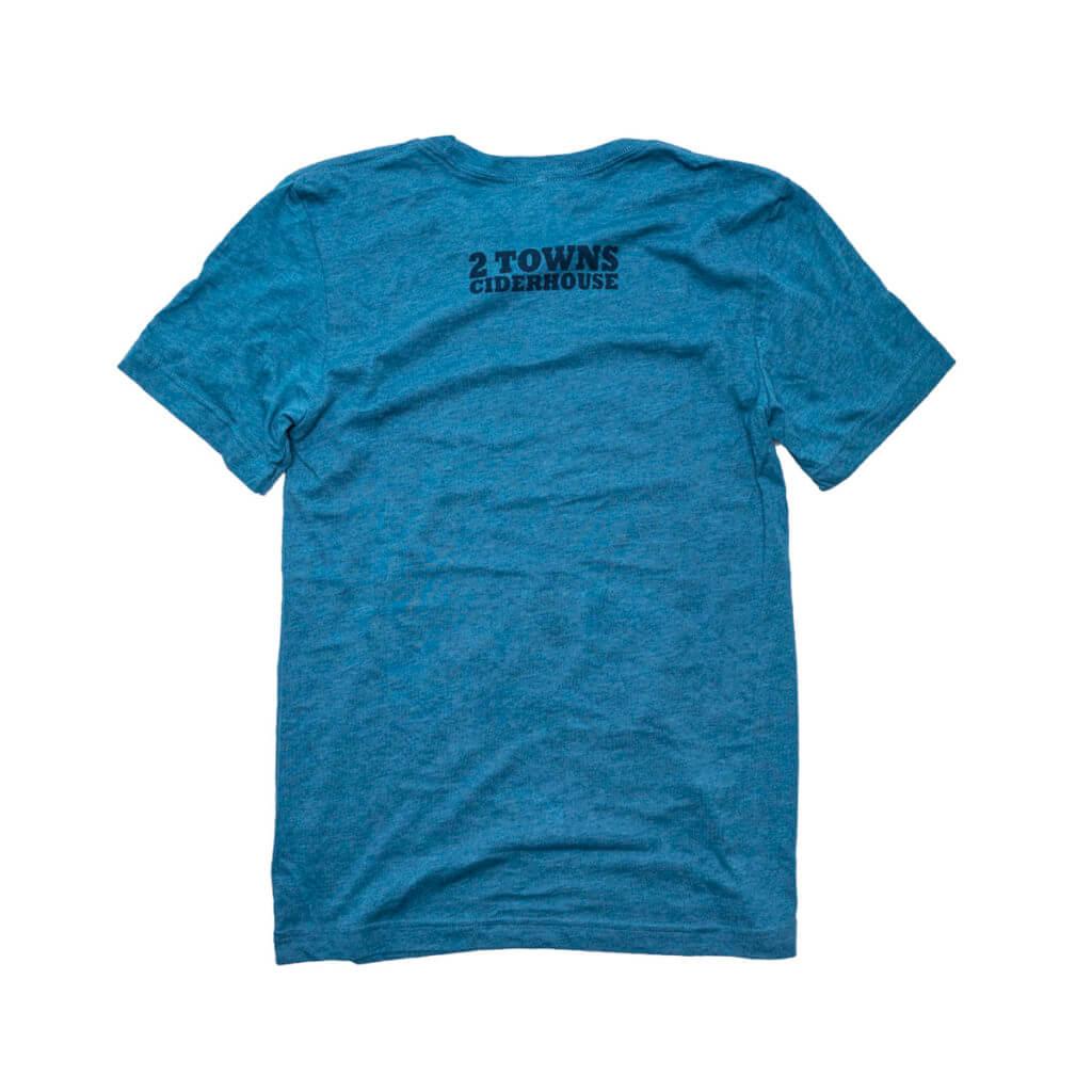 Blue Shirt Back