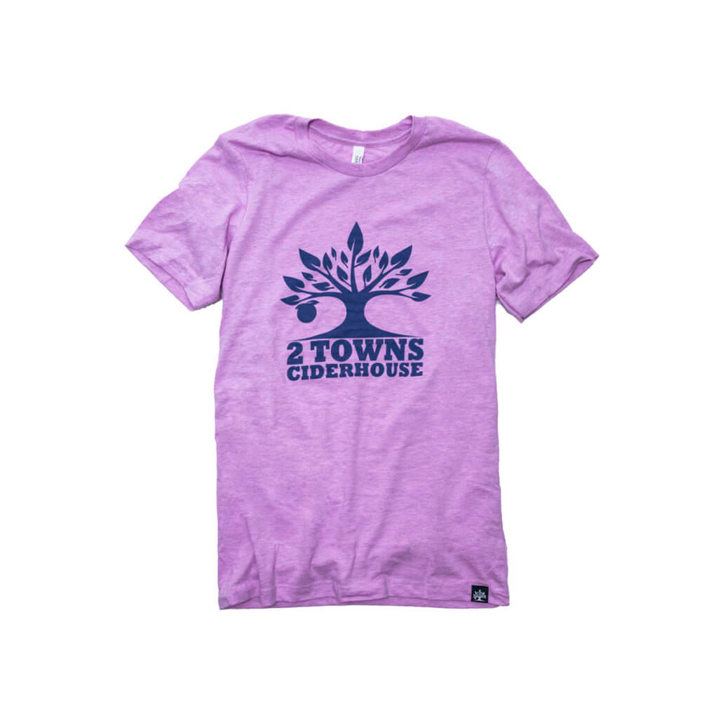 Purple Shirt Front