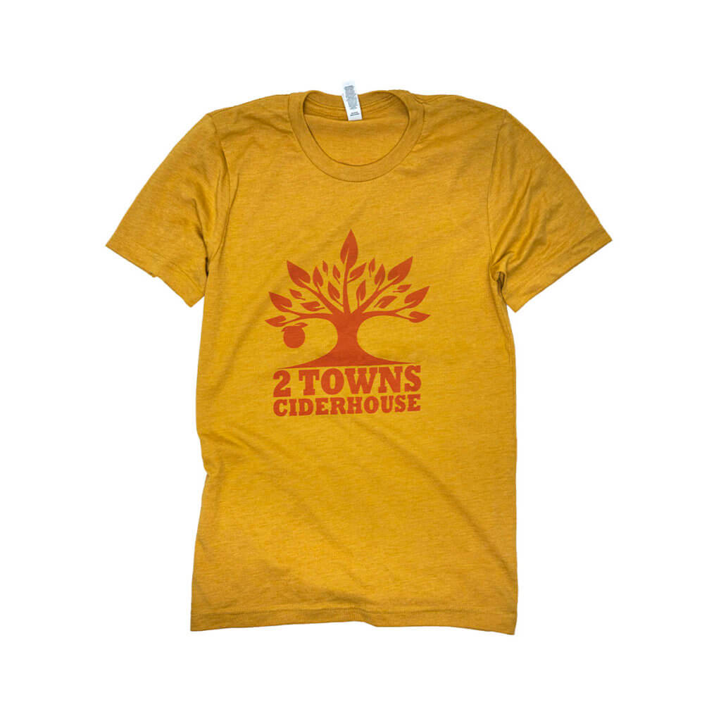 yellow shirt front