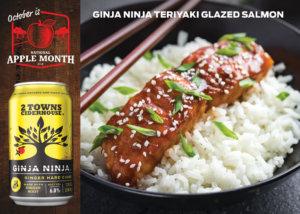 Ginja Ninja Teriyaki Glazed Salmon