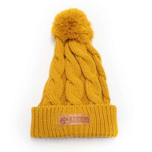 2019_2Towns_Yellow-Cable-Knit-Hat