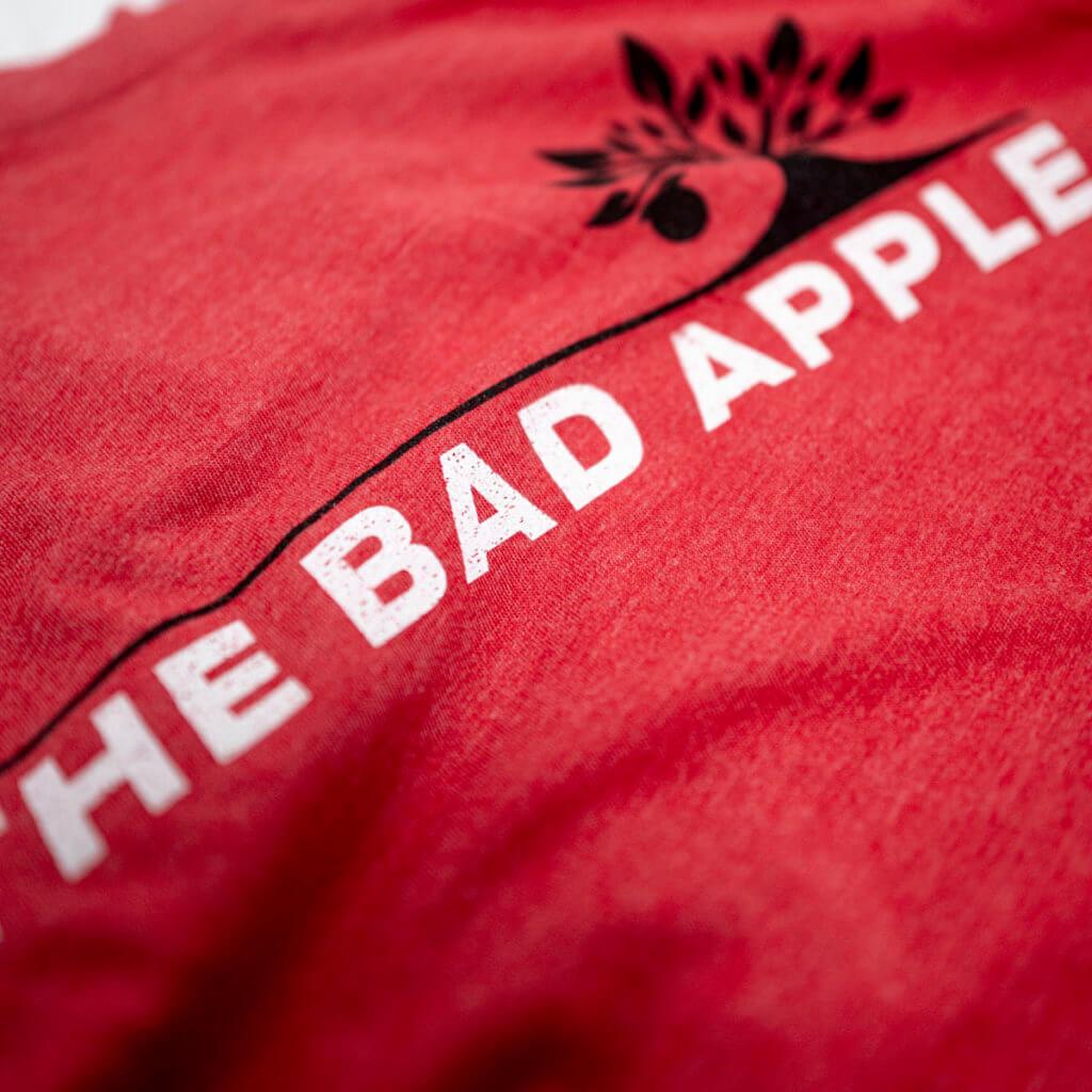 Bad Apple T-Shirt Detail