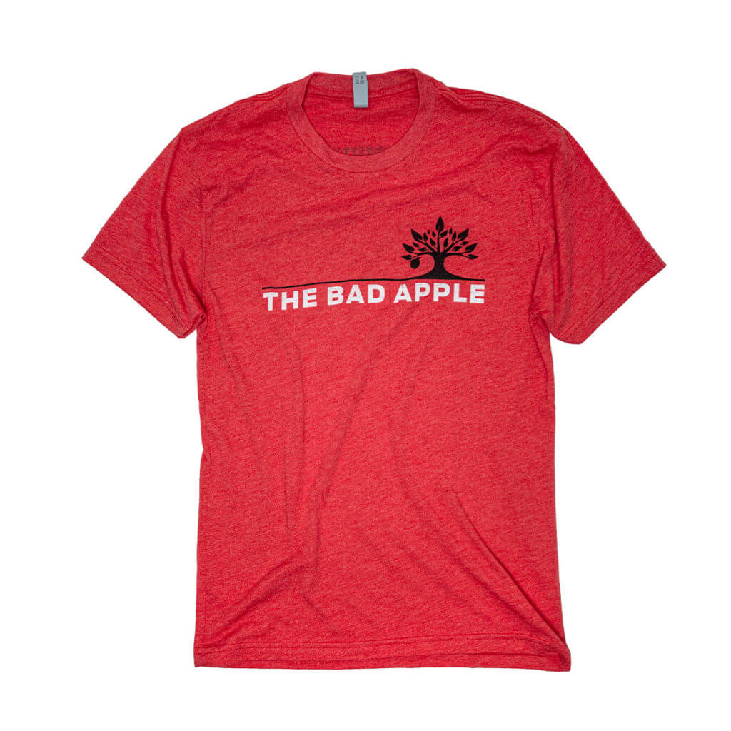 Bad Apple T-shirt Front