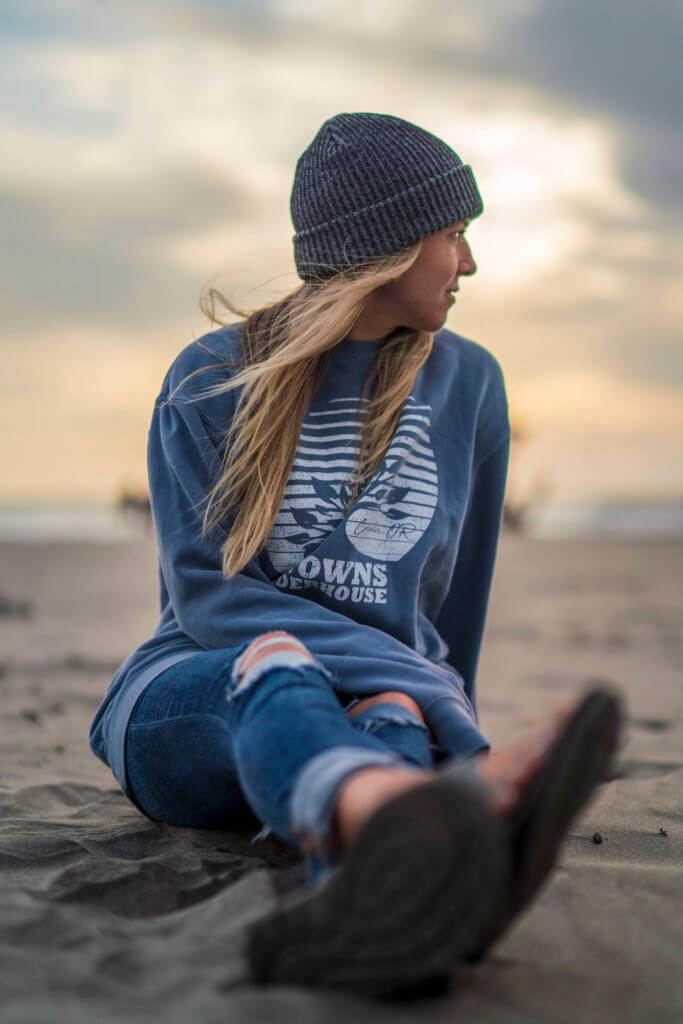 Blue Sweater 3