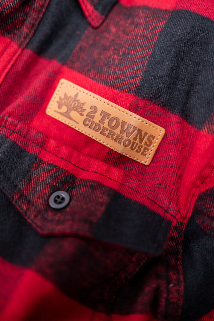 Red Flannel Detail 2
