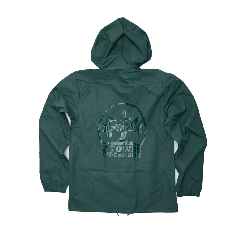 Green Rain Jacket Back (2)