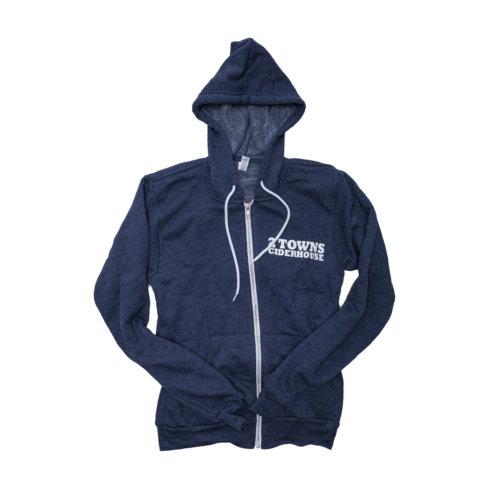 Blue Hoodie Front (1)