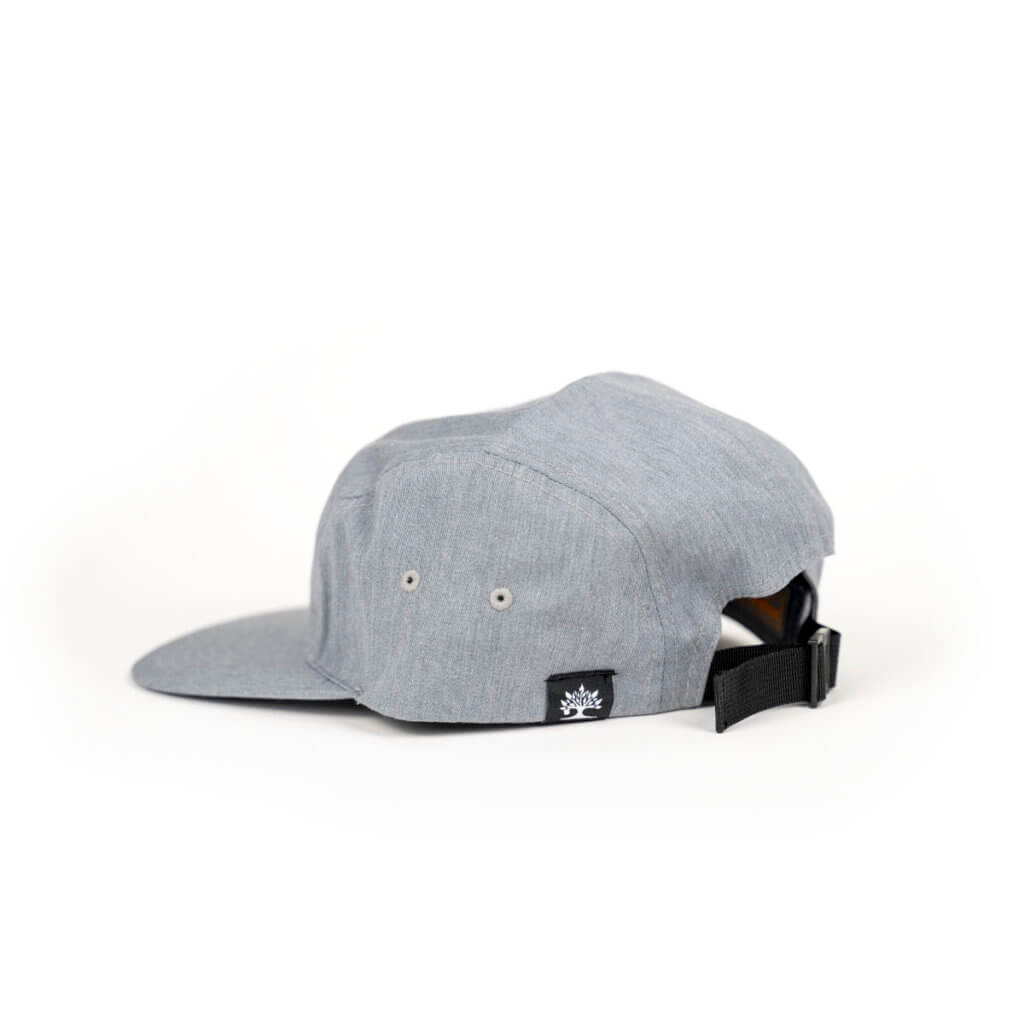 grey camper hat back