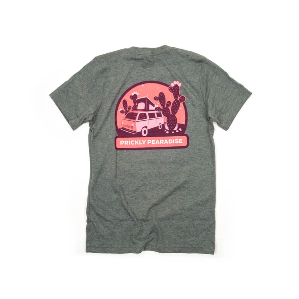 prickly t-shirt back